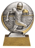 "5"" Motion Xtreme Football Trophy"