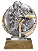 "5"" Motion Xtreme Girls T-Ball Trophy"