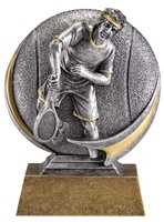 "5"" Motion Xtreme Boys Tennis Trophy"