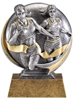 "5"" Motion Xtreme Girls Track Trophy"