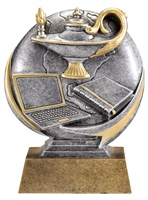 "5"" Motion Xtreme Lamp of Knowledge Trophy"