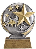 "5"" Motion Xtreme All Star Victory Trophy"