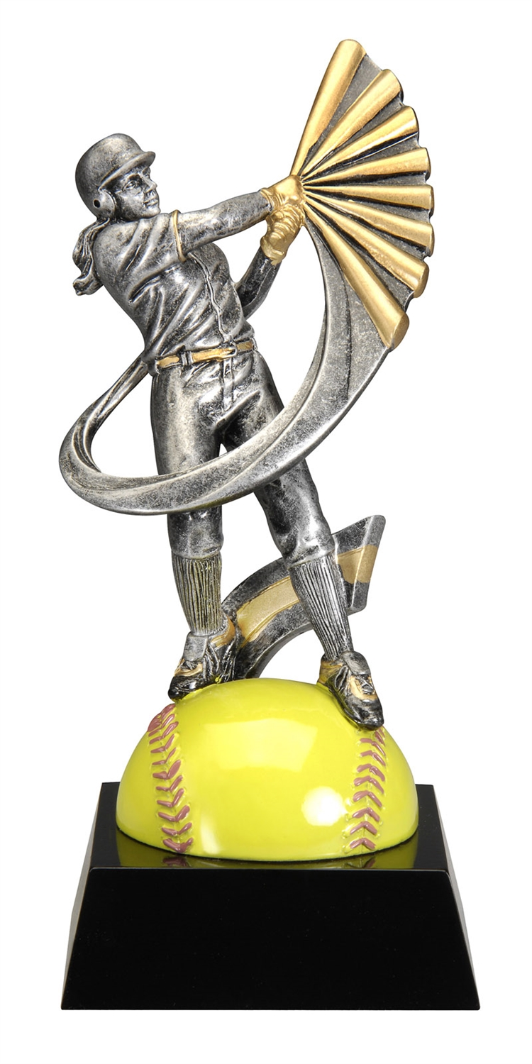 "7-1/2"" Motion Xtreme Softball Trophy"
