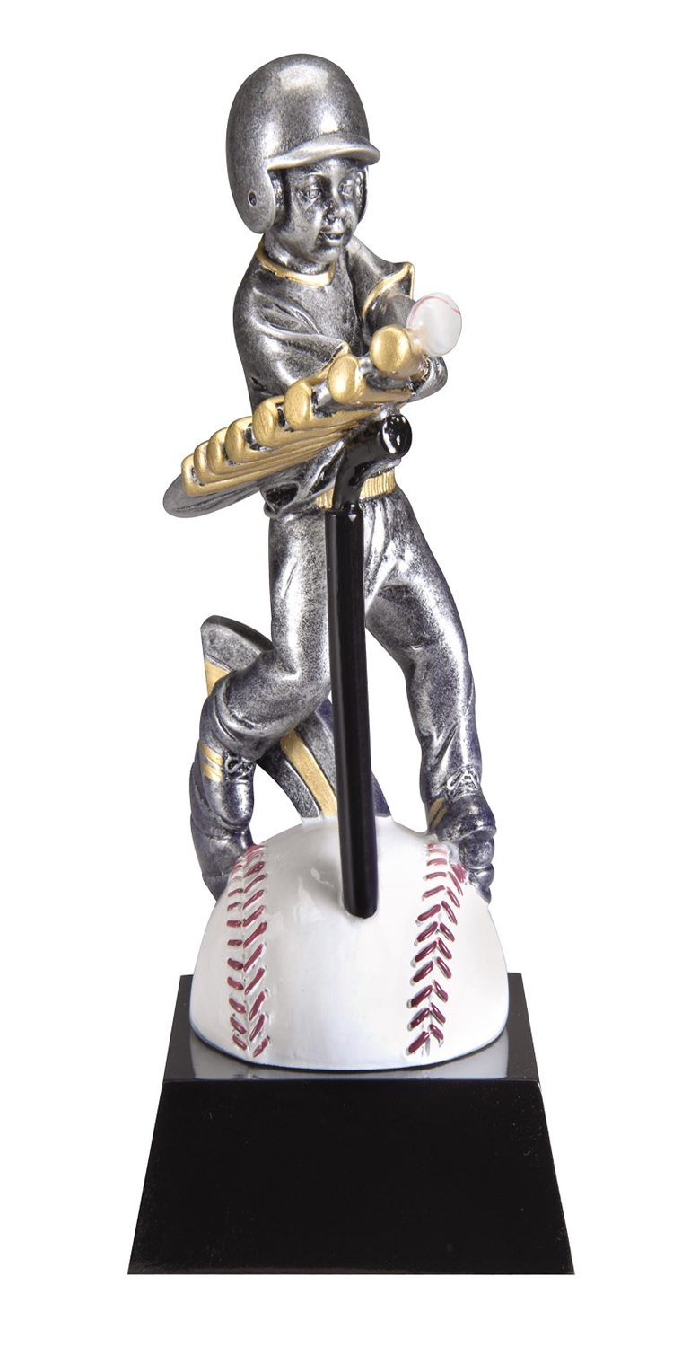 "7-1/2"" Motion Xtreme Male T-Ball Trophy"