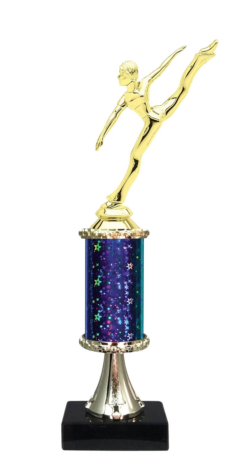 Dance Trophy on Marble Base available in 5 Colors