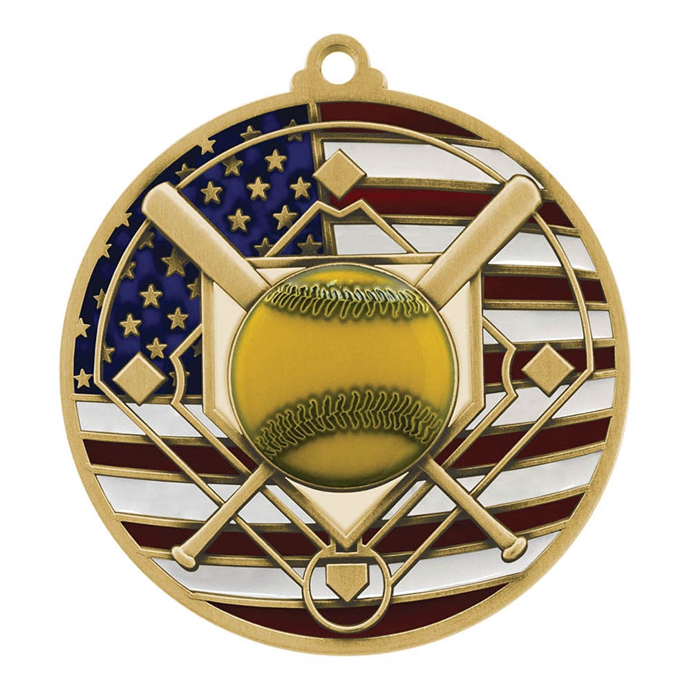 Patriot Softball Medal