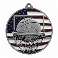 Patriot Basketball Medal