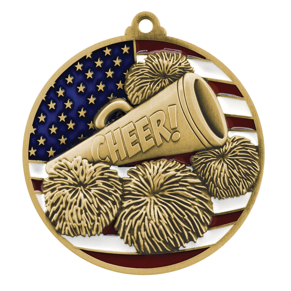 Patriot Cheerleading Medal