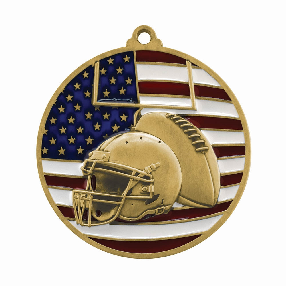 Patriot Football Medal
