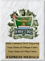 All-Star Lamp of Knowledge Plaque (4 Sizes) (PM1272)