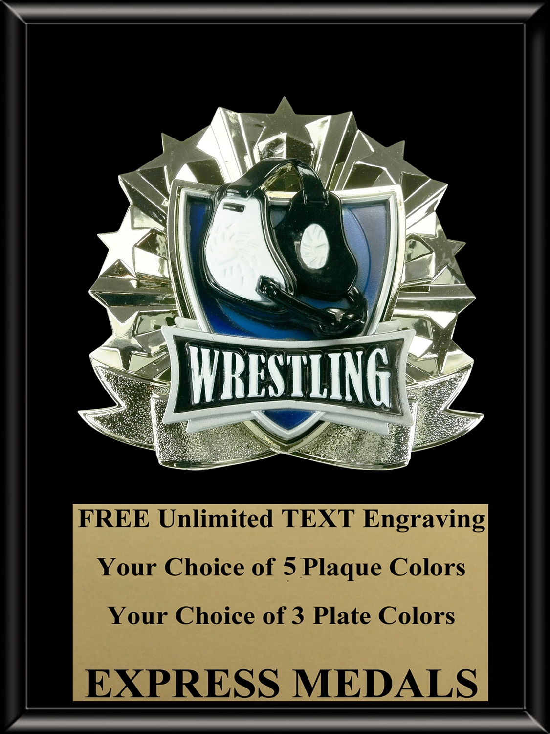 All-Star Wrestling Plaque (4 Sizes) (PM1278)