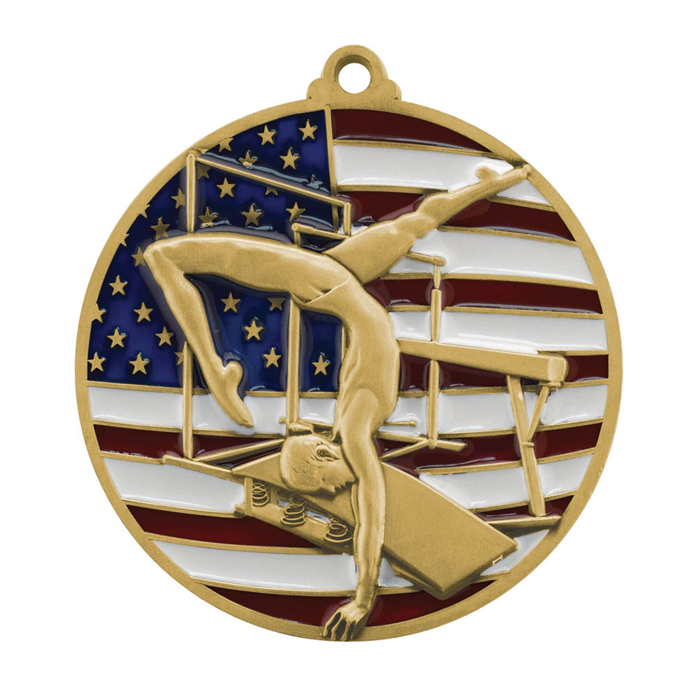 Patriot Gymnastics Medal
