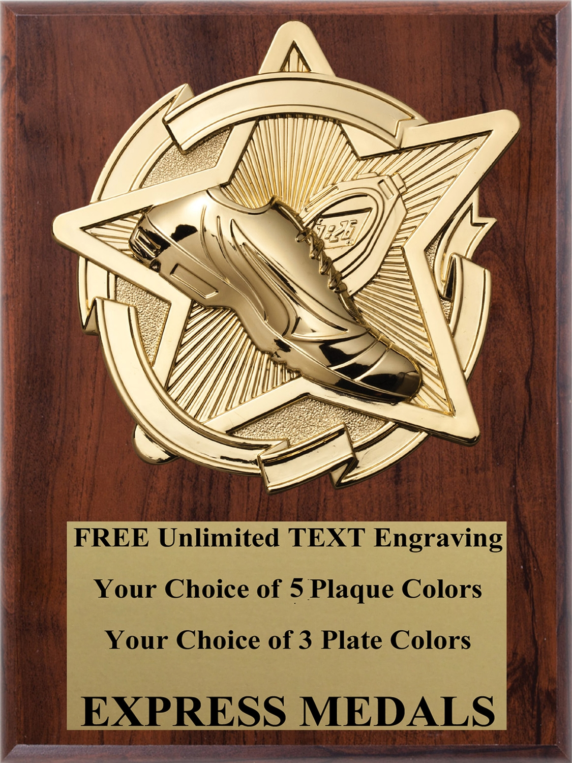 Star Track Plaque (4 Sizes)
