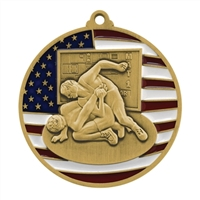 Patriot Wrestling Medal