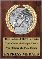 Platinum Football Plaque 4x6 & 5x7 PM5106-VL