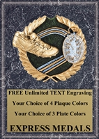 Full Color Track Plaque 4x6 & 5x7 PM664-VL