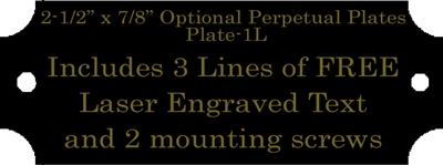 Extra Engraved Perpetual Plate