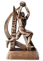 "6-1/2"" Ultra Action Male Basketball Trophy RF2703"