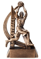 "6-1/2"" Ultra Action Girls Basketball Trophy RF2704"