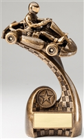 "8"" Go Kart Trophy Award"