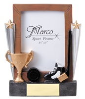 "7-1/4"" Hockey Photo Frame"