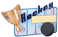 "5-1/4"" x 3-1/2"" Winners Cup Hockey Resin RFC10"