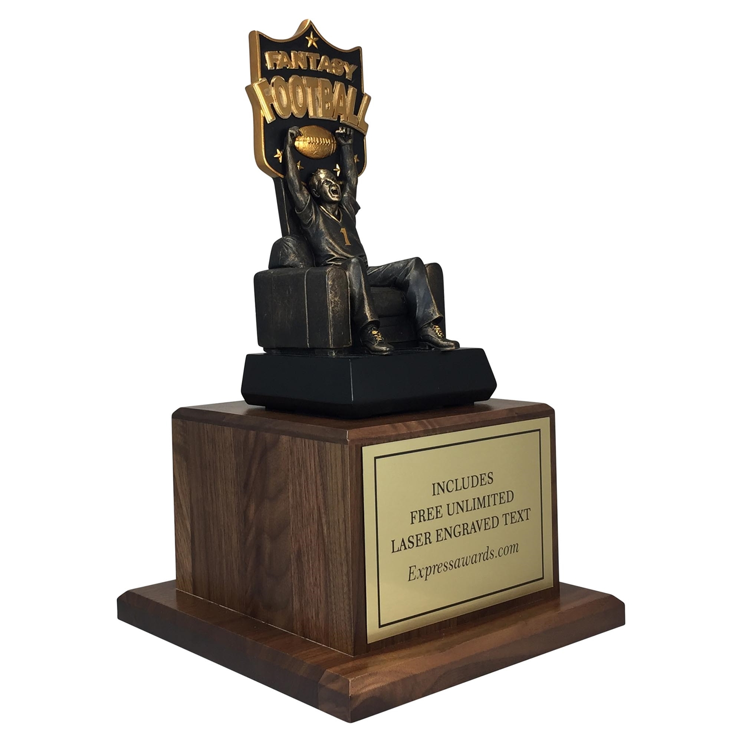"14"" Fantasy Football Trophy"
