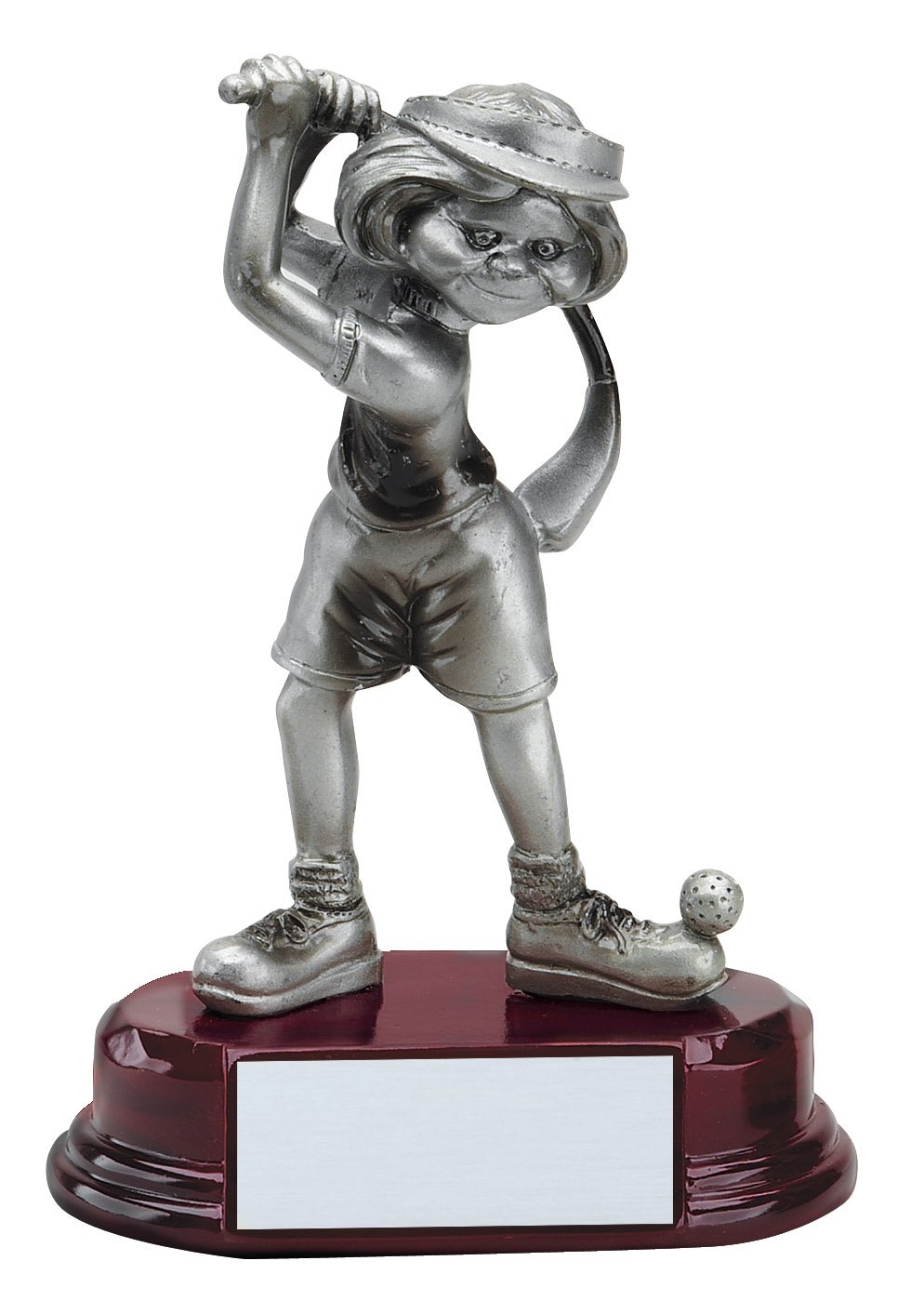 Female Comic Golfer Trophy Award