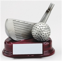 Wedge Chipping Golf Trophy Award