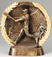 "7-1/2"" High Relief Baseball Plate Award"