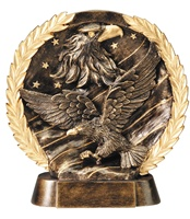 "7-1/2"" High Relief Eagle Plate Award"