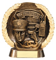 "7-1/2"" High Relief Law Enforcement Plate Award"