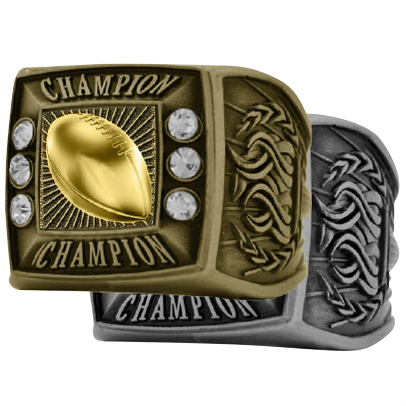 presentation cfl nfl box rings two one in spotted championship football gorgeous and
