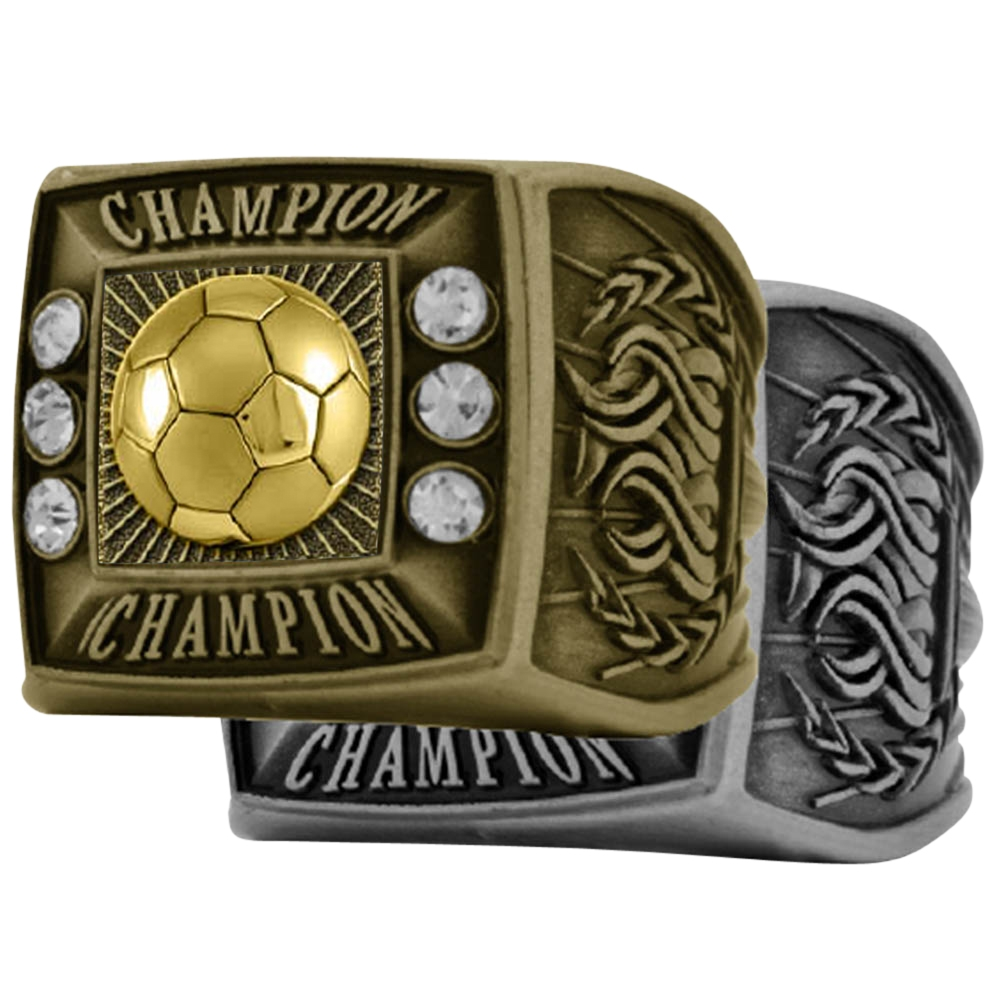 Soccer Champion Rings