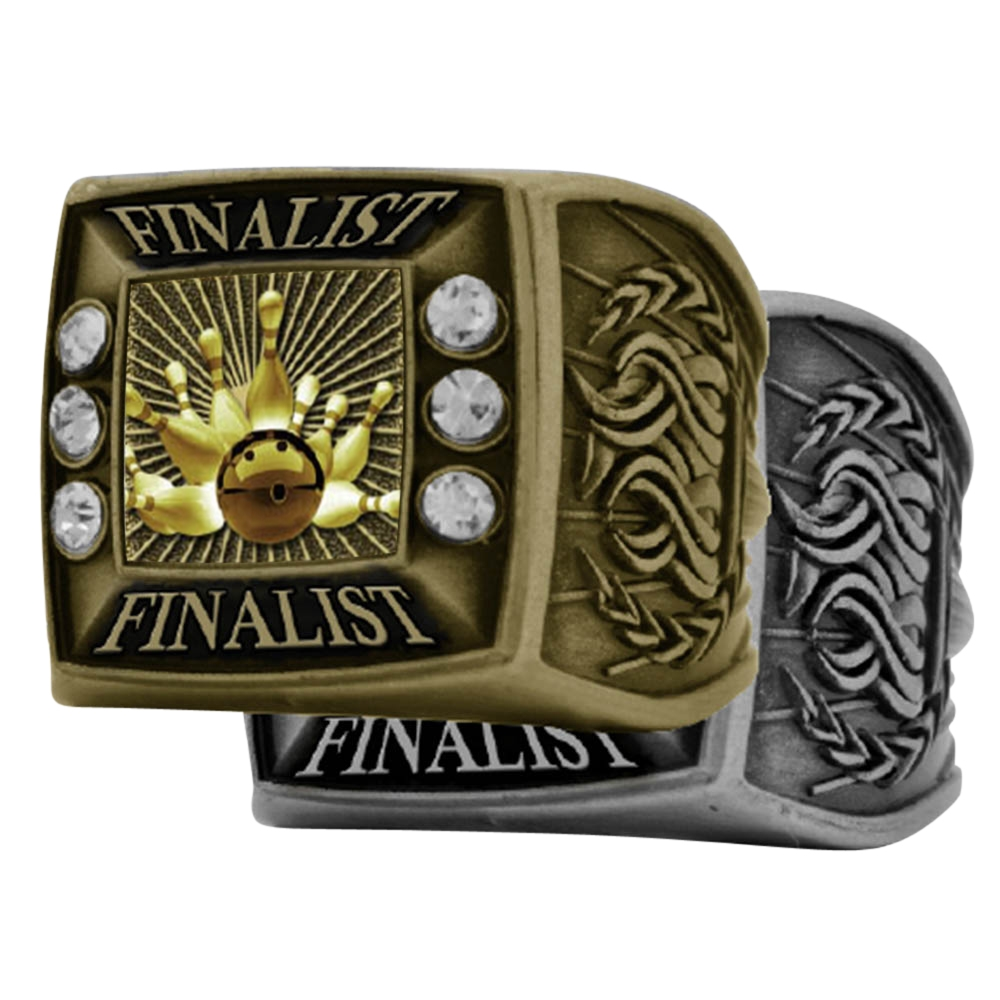 Bowling Finalist Rings