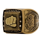 Martial Arts Finalist Rings