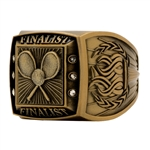 Tennis Finalist Rings