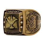 Fantasy Scholastic Champion Ring