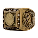 Fantasy Golf Champion Ring