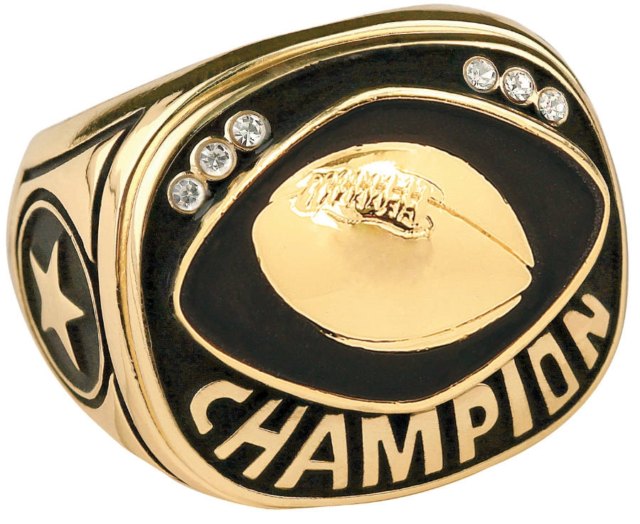 college football ncaa rings national championship sports