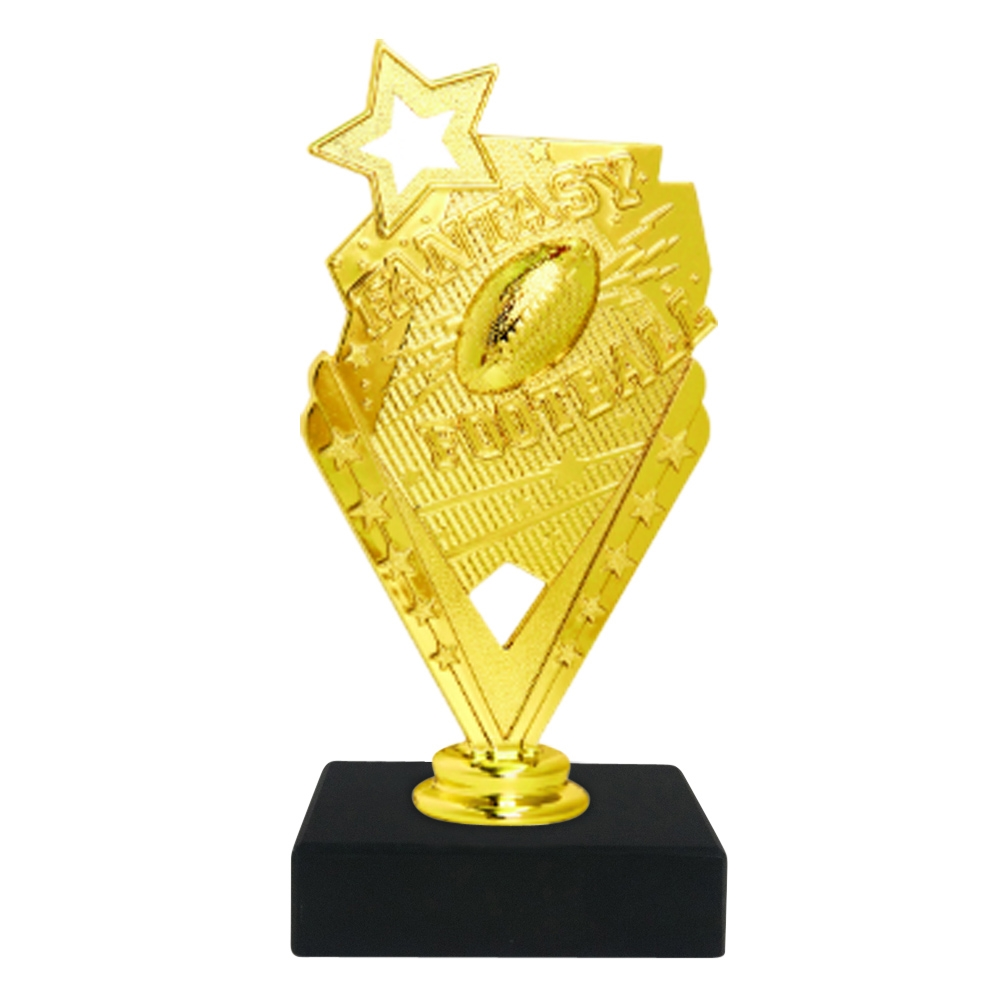 Fantasy Football Trophy on Marble Base