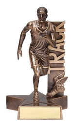"8-1/2"" Billboard Male Track Trophy"