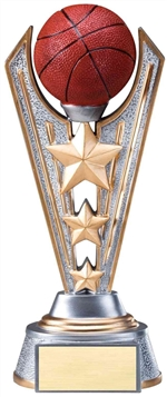 "9-1/4"" Large Victory Basketball Trophy"