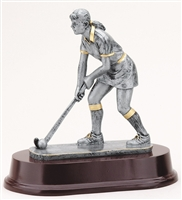Resin Female Field Hockey Trophy
