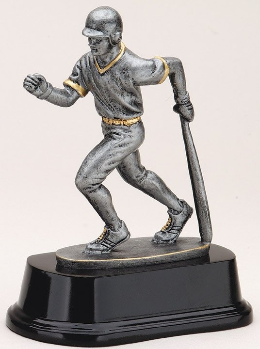 Male Baseball Batter Trophy Award