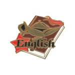 "1-1/4"" Star Student English Pin SA21"