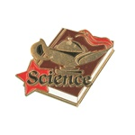 "1-1/4"" Star Student Science Pin SA25"