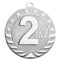 "2"" Starbrite Series Second Place Medal SB163"