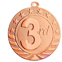 "2"" Starbrite Series Third Place Medal SB164"