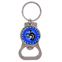 Custom Logo Bottle Opener Key Tag SLKTB30F6